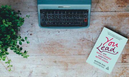 Vintage, Typewriter, Plant, Book