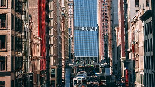 The Trump Plaza in Atlantic City