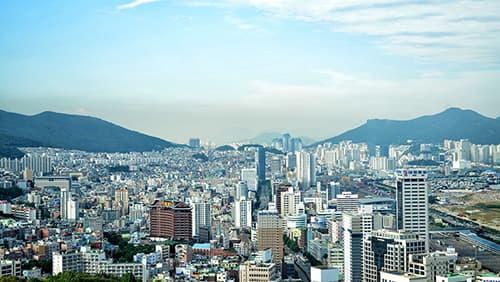 Cakrawala Korea Selatan, Metropolis, Pemandangan kota