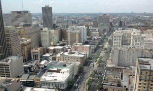 New Orleans skyscrapers, skyline