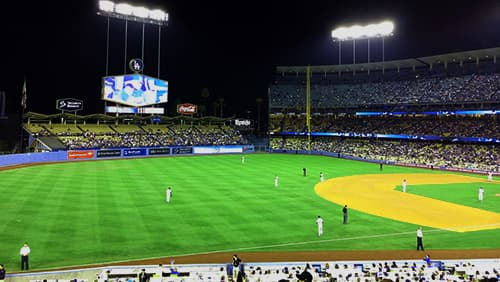 Dodger baseball stadium