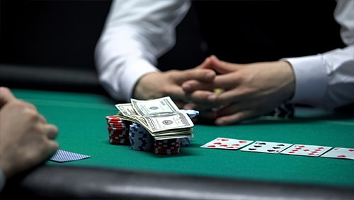 Poker and money