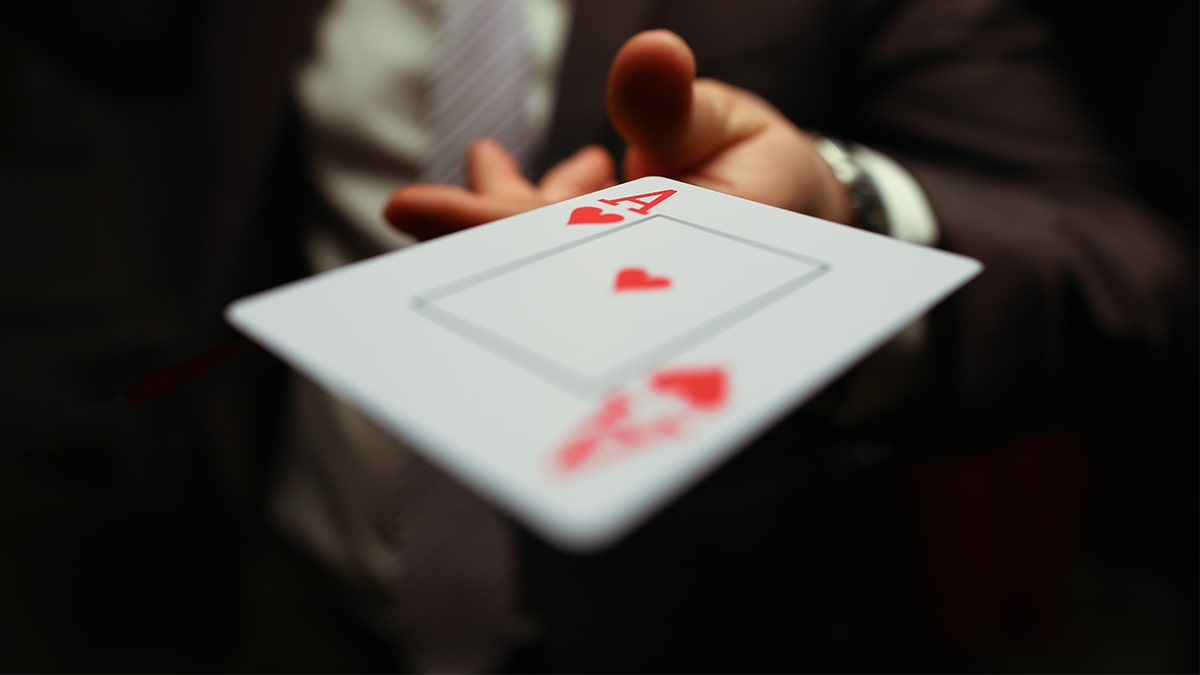 Cards gamble