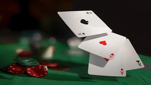 Kartu dan chip poker