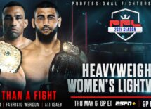Professional Fighters League announces heavyweight and womens lightweight rosters