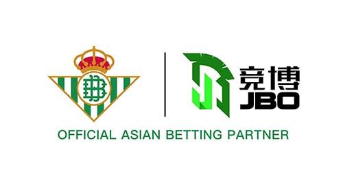 Logo Real Betis dan JBO